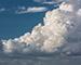Блиц: небо в облаках