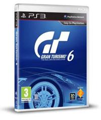 Подарочный комплект с игрой Gran Turismo 6