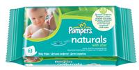 Детские салфетки  Pampers Naturals (с экстрактами трав)