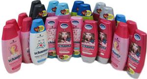Годовой запас шампуня Schauma