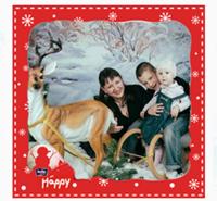 Моя любимая семья - муж любимый, сын, дочка и я)