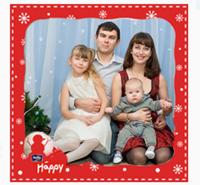 Денискин первый Новый год