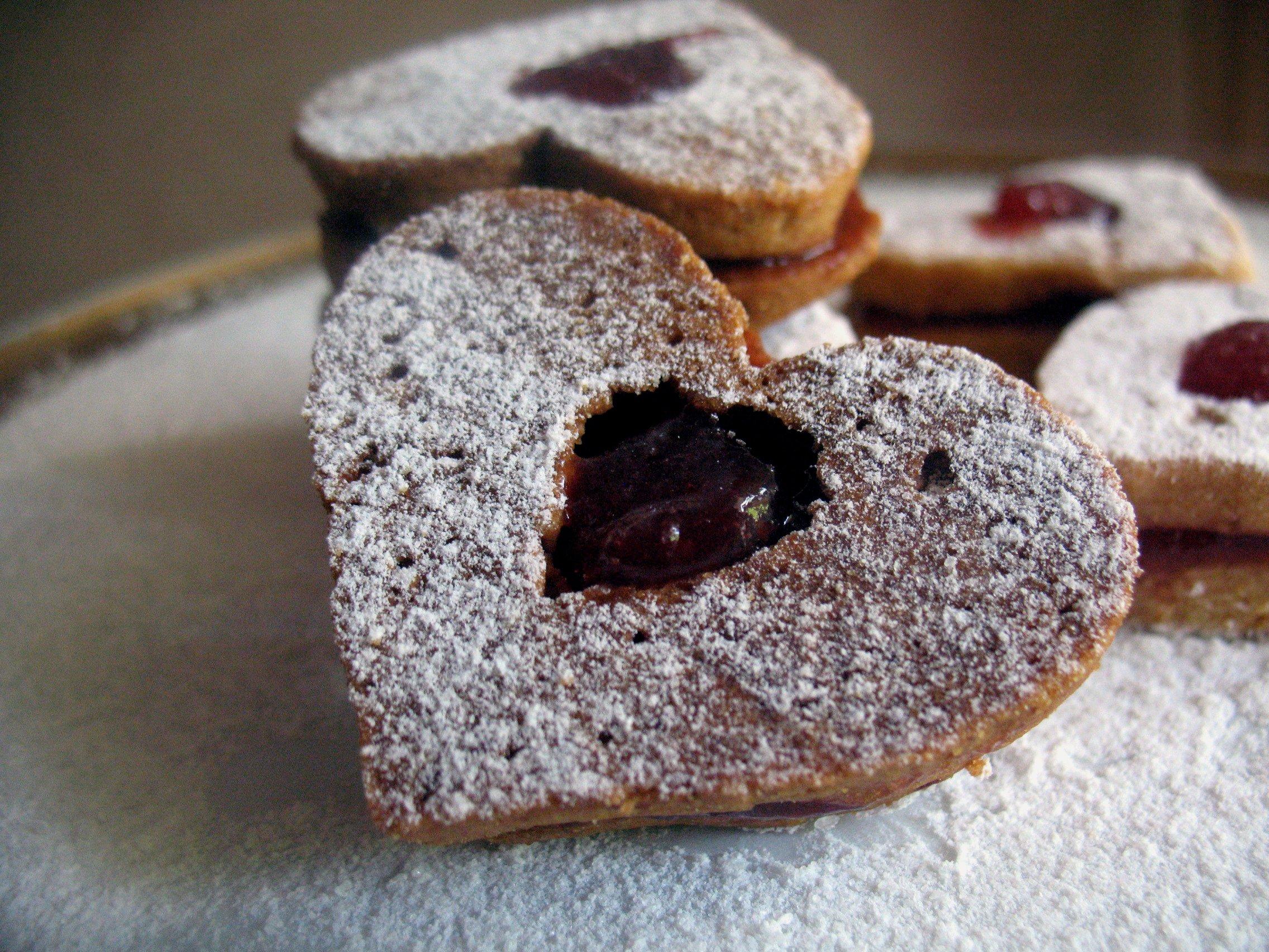 Австрийское печенье «Linzer»