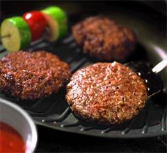 Гамбургеры с голубым сыром