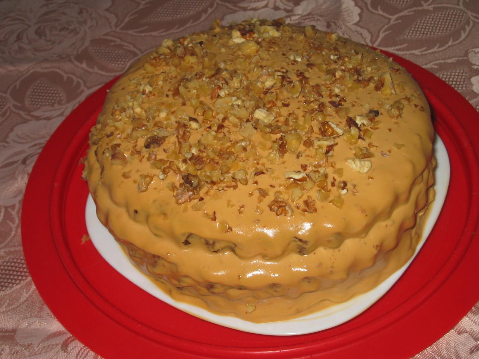 Торт с варёной сгущёнкой в домашних условиях простой рецепт 174