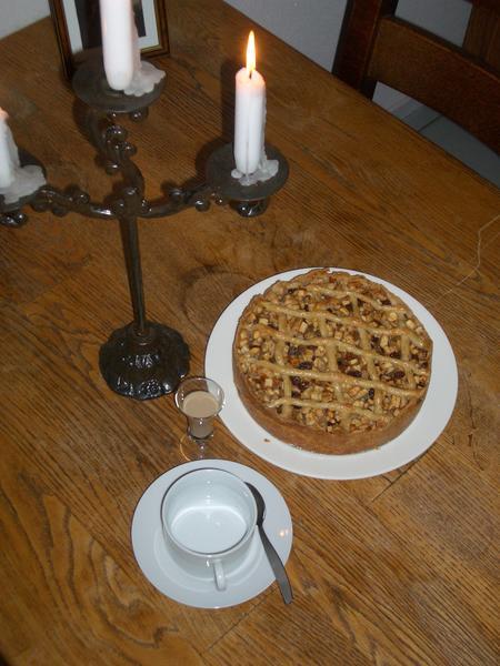 Appeltaart (голландский яблочный пирог)