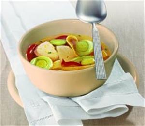 Куринный суп с карри