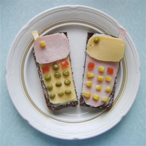 Бутерброд 'Мобильный телефон'