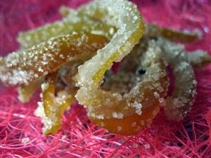 Лимонно-апельсиновые цукаты