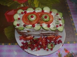 Торт 'Лакомство для папочки'