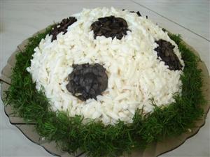 Салат 'Футбол'