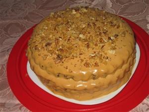 Торт Варёнка-бурёнка