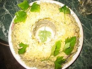 Салатик из шпрот и творога!!!Интересно и очень вкусно!