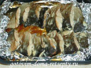 Запеченная рыба в духовке в фольге