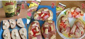 Закусочные бутерброды 'Пикантные'