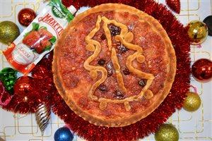 Новогодний пирог