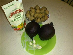 Свекольный салат
