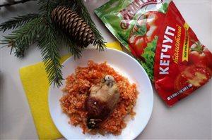 Рис в томате 'Праздничный'
