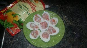 Яйца фаршированные 'То что надо!'