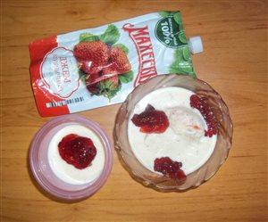 Новогодний десерт 'Мягкое мороженое'
