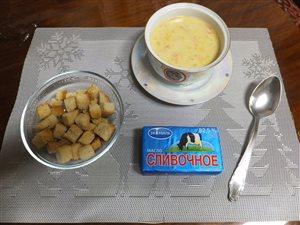 Крем-суп с шампиньонами