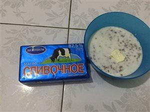 Каша гречневая с молоком