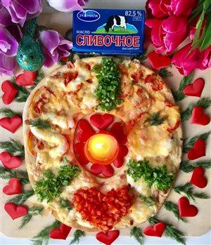 Пицца  'Любовь'
