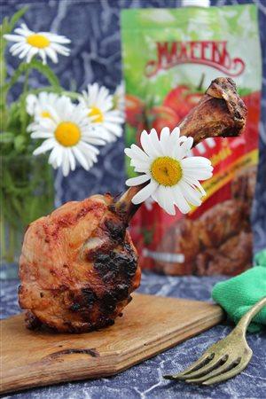 Куриные голени - гриль на косточке