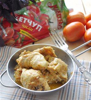 Цыплёнок-карри