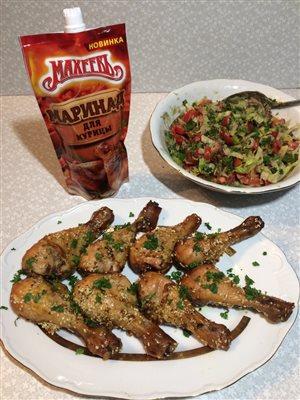 Куриные голени в маринаде «Махеев»
