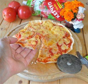 Пицца 'Эконом' из лаваша