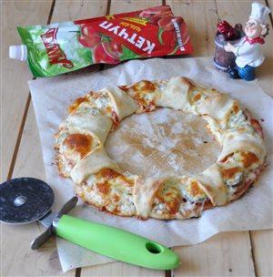 Пицца оригинальной формовки