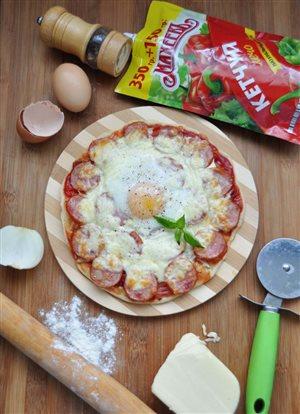 Пицца 'Воскресный завтрак'