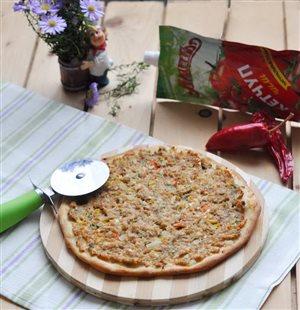 Пицца по-турецки 'Лахмаджун'