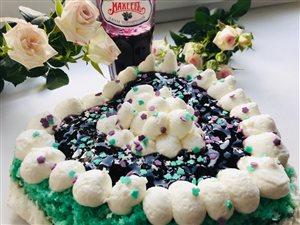 Торт «Вупи пай» с черничным джемом МахеевЪ