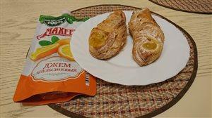 Вкусняшки с апельсиновым джемом Махеев
