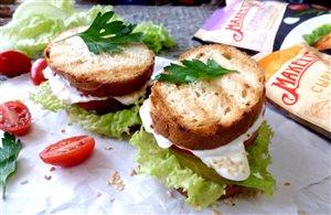 Овощной сэндвич с чили