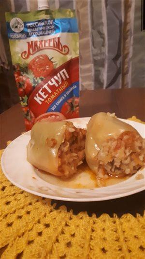 Фаршированный перец с капустой от 'Махеевъ'