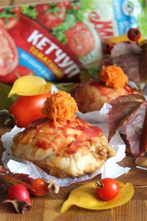 «МахеевъКи с помпоном» из куриного мяса с гречкой