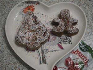 Шоколадные кексы 'Праздник'с вишнёвым джемом Махеевъ. Отмечаем 14 февраля!