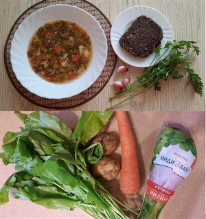 Летний легкий суп с 'Индилайт'
