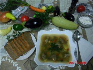 Овощной супчик на бульоне из индейки 'Индилайт'