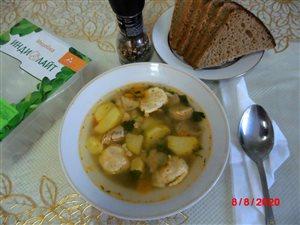 Суп с индейкой 'ИНДИЛАЙТ' и клёцками