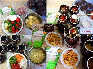 Индейка 'ИНДИЛАЙТ' с овощами в горшочках