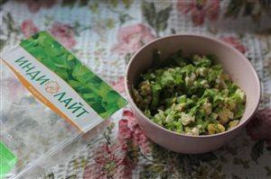 Салат легкий с индейкой
