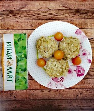 Тефтели из индейки с рисом