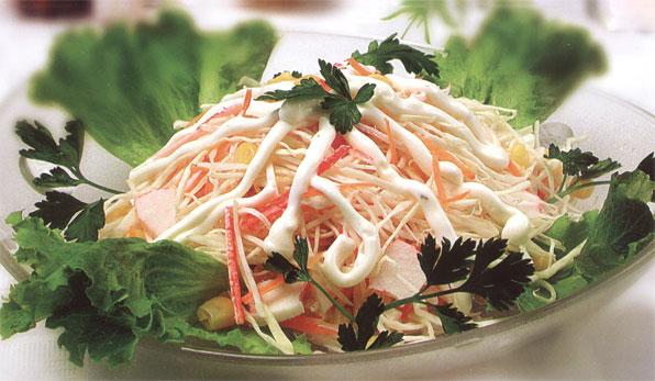Салат из крабовых палочек