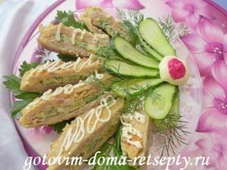 Рецепт куриного мяса с омлетной прослойкой или ленивый рулет