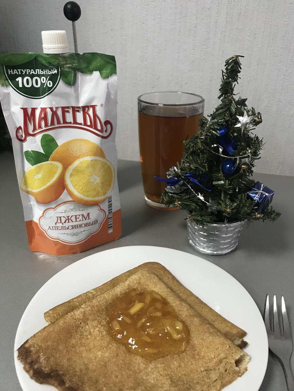 Новогодний завтрак - блины