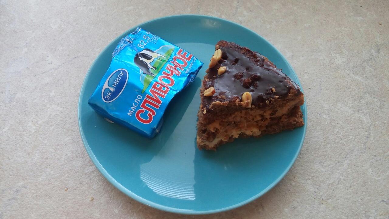 Торт Сникерс с нугой